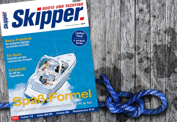 "Editorial Design des Magazins ""SKIPPER"""